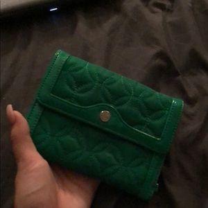Vera Bradley Bags - Green Vera Bradley wallet
